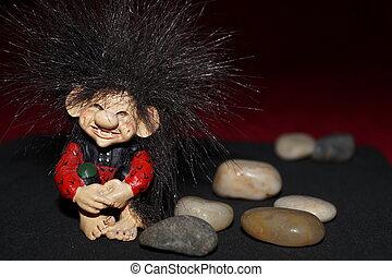 A troll cute