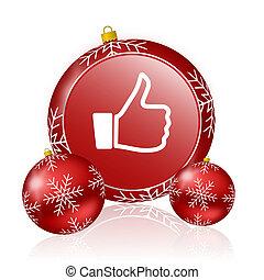 like christmas icon