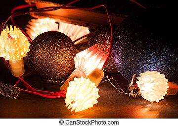 Licht, Weihnachten, hintergrund