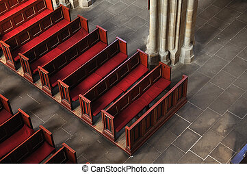 In Face Of God - Seats in face of Majesty of God - red seats...