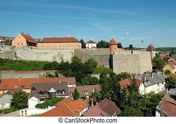 Caste of Eger - The historical fortress in Eger.