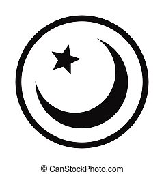 Islam symbol simple icon
