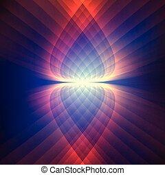 Cosmic shining background