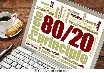 Pareto principle, eighty-twenty rule