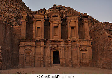 El Deir The Monastery - The Monastery, Petras largest...