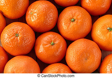Clementines backgroung