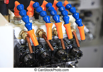 coolant supply for tools