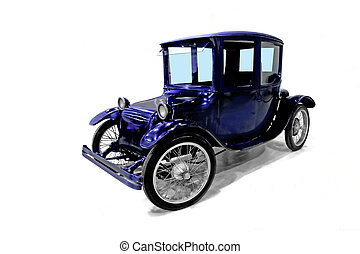 Vintage electric car U.S. production of 20s years of the...