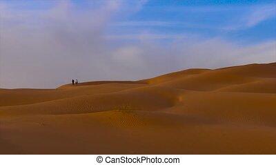 Sahara Desert landscape. - Typical landscape of the Sahara...