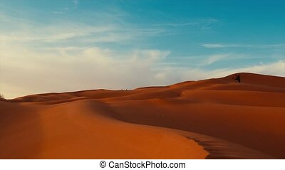 Sahara Desert landscape. - Typical landscape of the Sahara...