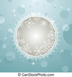 Christmas invitation with effect bokeh - Illustration...