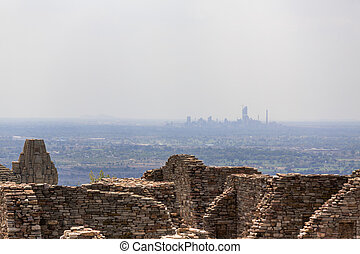 incredible india - view from the ruins from chittorgarh