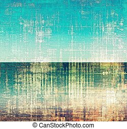 Vintage textured background. With different color patterns: yellow (beige); brown; blue; green