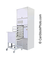 sterilizer - Sterilizer under the white background