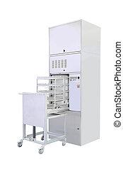 sterilizer - Sterilizer under the white background