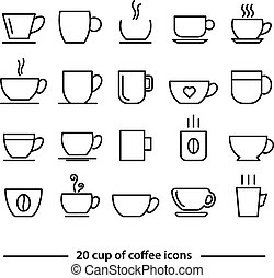cup of coffe icons