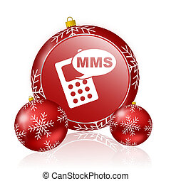 mms christmas icon