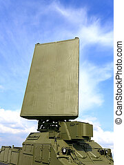 Mobile radar station of the airspace control - Military...