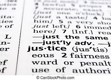 Justice Defined - The word Justice in a dictionary