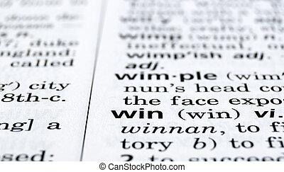 Win Defined