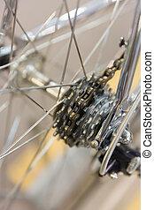 vintage bike cassette - A vintage bike cassette of a race...