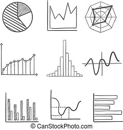 Sketched business graphs and charts - Sketched graphs and...
