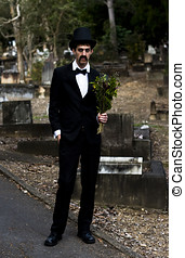Funeral Attendee - Morbidity Is The Deportment Of A Funeral...