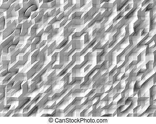white abstract background randomly generated diagonal forms...