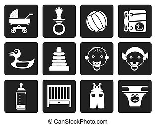 Baby Online Shop Icons
