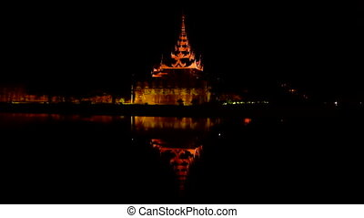 Enlightened pagode Mandalay Myanmar - Enlightened pagode in...