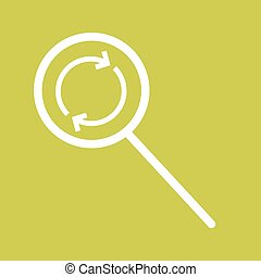 Find Replace - Search, find, replace icon vector imageCan...