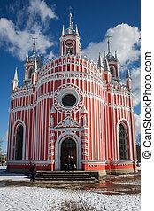 Chesmen church in St. Petersburg