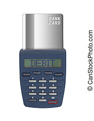 Security device for banking at home
