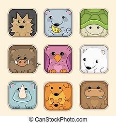 Set 2, animals