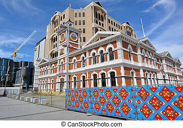 Christchurch Central Post Office - New Zealand -...