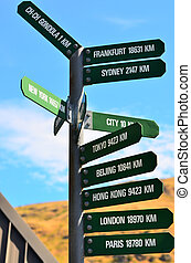 Christchurch Gondola - New Zealand - CHRISTCHURCH - DEC 04...