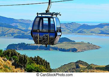 Christchurch Gondola - New Zealand - Christchurch Gondola.It...