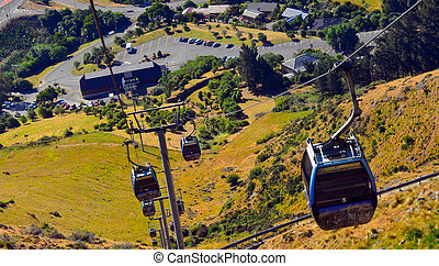 Christchurch Gondola - New Zealand - Christchurch Gondola.It...