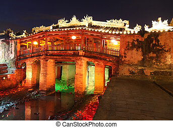 Japanese Covered Bridge - Hoi An Vietnam - Japanese COvered...