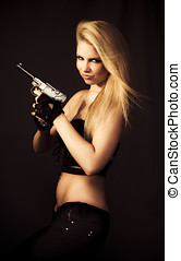 If Looks Could Kill - Deadly But Beautiful Blonde Girl With...