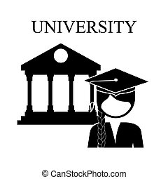 university education design, vector illustration eps10...