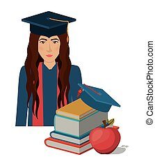 university education design, vector illustration eps10...