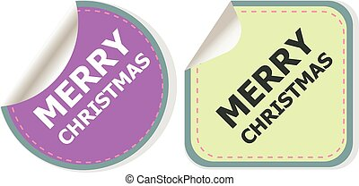 Merry christmas web icon. creative concept vector background for Web and Mobile Applications, Happy New Year. Illustration template design, holiday infographic, page, banner.