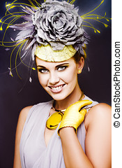 Spring Carnival Beauty - Fashionable And Gorgeous Young...