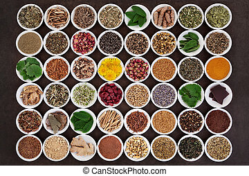 Medicinal Herbs for Women - Large medicinal herb selection...