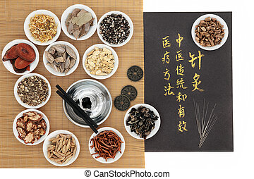 Acupuncture Traditional Chinese Medicine - Chinese medicinal...