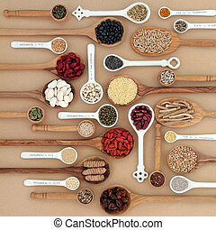 Dried Superfood Sampler - Dried superfood selection in...