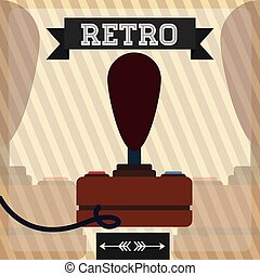 Retro technology design - Retro concept with technology...
