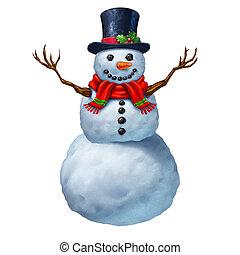 boneco neve, personagem,