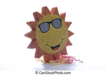 Pinata sun - Big Pinata sun wearing sunglasses